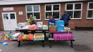 Farm Fresh Revolution delivers freah food to families most in need across Staffordshire