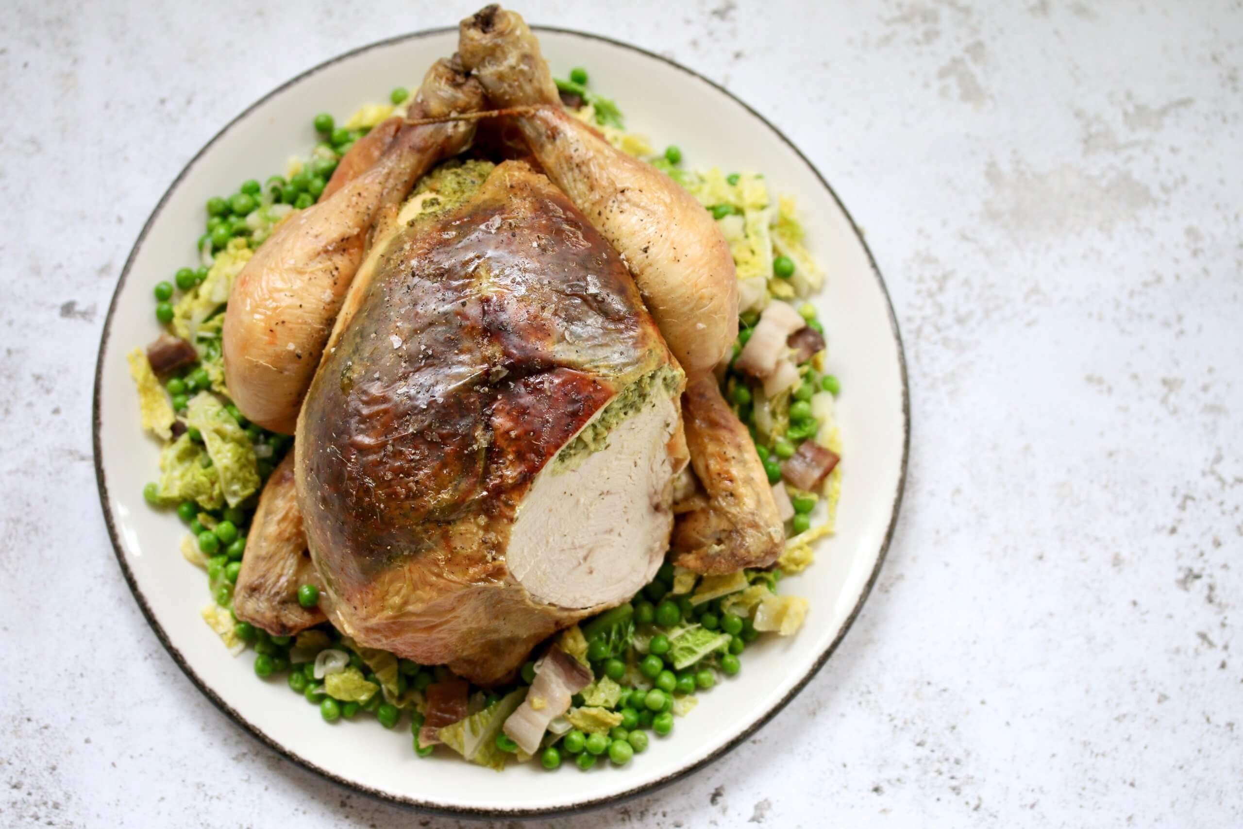 Spring Herb Packington Chicken